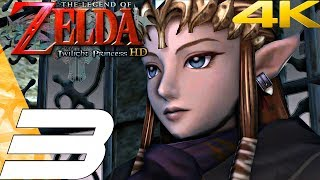 Legend of Zelda Twilight Princess HD - Gameplay Walkthrough Part 3 - Faron Woods (Remaster) 4K