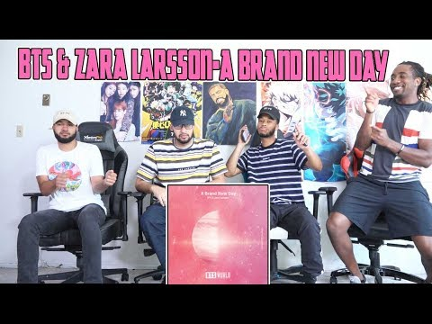 BTS & Zara Larsson- A Brand New Day Reaction/Review
