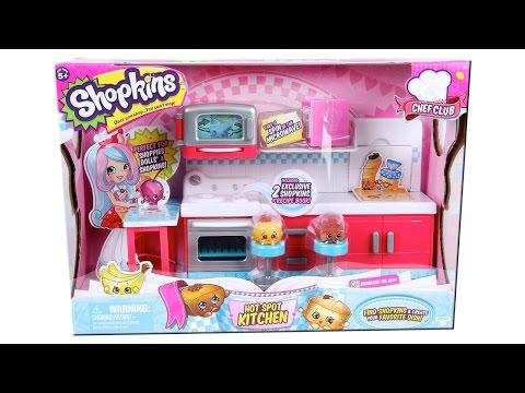 Shopkins Season 6 Chef Club Hot Spot...
