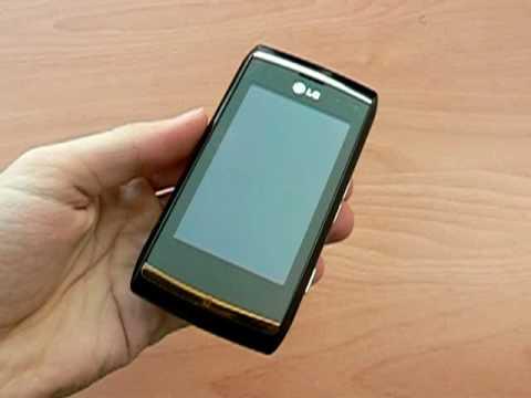 LG GC900 Viewty Smart - design a konstrukce