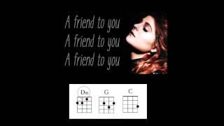 Just a Friend to You - Ukulele Play-Along