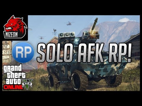SOLO AFK RP METHOD IN GTA 5 ONLINE (1.42)