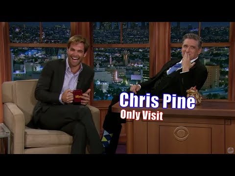 Chris Pine  Accuses Craig of Oral Fixation  Only Appearance on Craig Ferguson