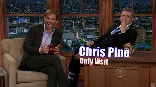 Chris Pine - Accuses Craig of Oral Fixation - Only Appearance on Craig Ferguson