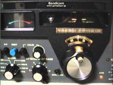 FR-101 6055kHz Radio NIKKEI