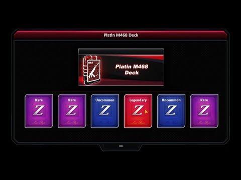 Zula - Opening 30 M468 PLATINUM DECKS (i need vendetta pls)