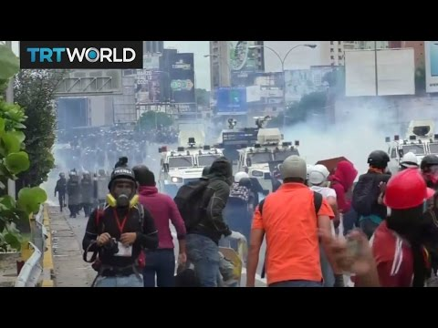 Venezuela On the Edge: Teenage protester dies as protests continue