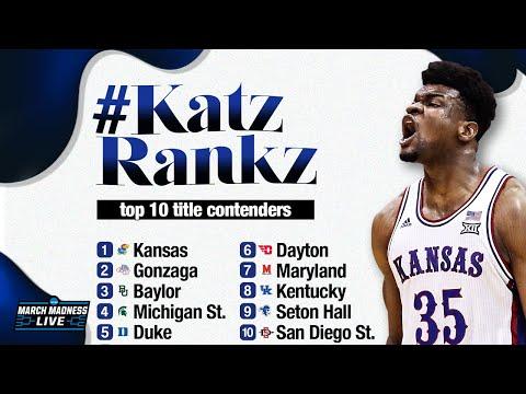 10 NCAA Tournament Favorites, Ranked