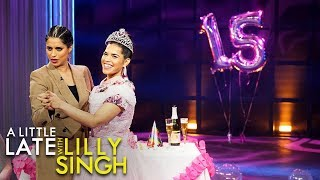 Lilly Throws America a Surprise Quinceañera YouTube Videos