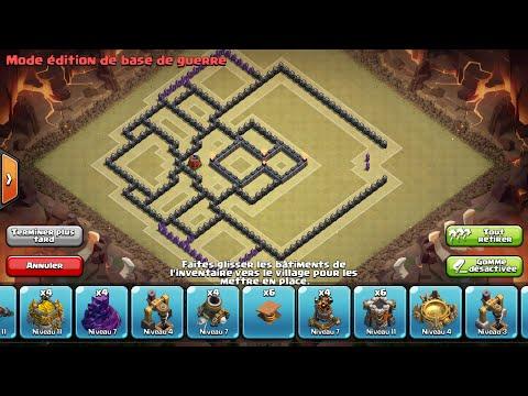 Clash of Clans - Base Hdv 9 GDC/Propulseur d'air