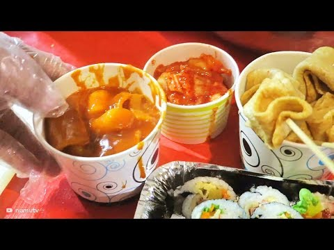 KOREAN STREET FOOD in MANILA, Philippines | BEST STREETFOOD in Makati and BINGSU in Taguig
