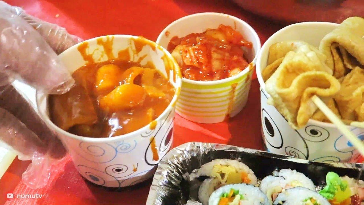 how to cook korean street food