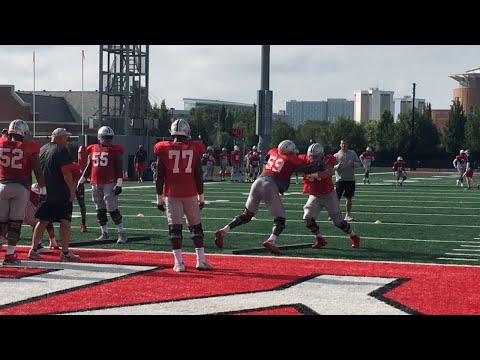 Michael Jordan working at center, and what it could mean for Ohio State's offensive line: Buckeyes football analysis