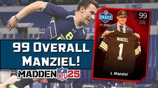 MUT 25 99 Overall Johnny Football! | Madden 25 Ultimate Team Manziel Future Stars Collection