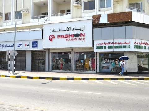 Walking Through Ruwi High Street - Muscat. Oman
