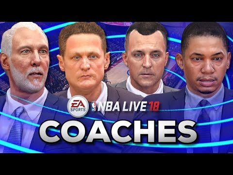 All 30 Coaches in NBA Live 18
