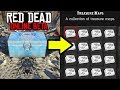 ALL HIDDEN TREASURE MAP LOCATIONS TO MAKE MONEY in Red Dead Online! RDR2 Online Gold!