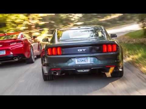 2016 Chevrolet Camaro Ss Vs 2015 Ford Mustang Gt Youtube