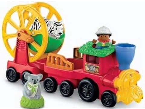 Fisher Price Little People Zoo Tren de Juguete para Niños