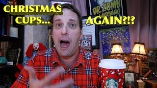 Starbucks Christmas Cup Controversy 2016!