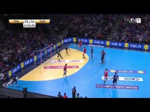 Roucoulette Valentin Porte Golden League France 36-28 Danemark - 10/01/2016