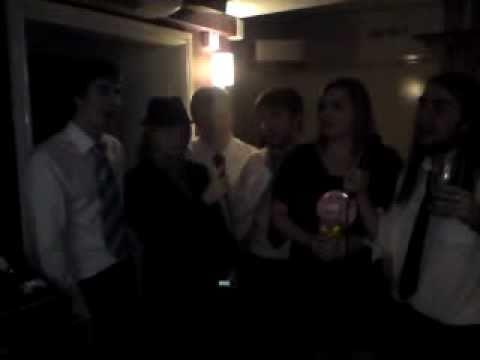 Karaoke down the Pick & Shovel - Cider Drinker!!