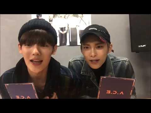 [보이는라디오] A.C.E Diary : Callin' Spoiler ver. (DJ Jun & Chan)