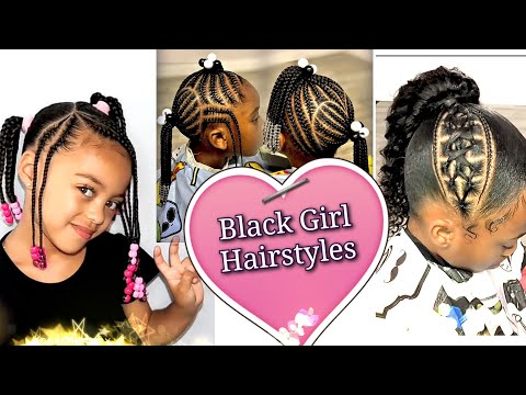 #1💝 Black Girl Hairstyles. The Black Kid Cornrows And Braids Hairstyles, African Hairstyles