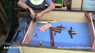 10 Platform Bed Storage Drawer • First Dry Fit Of Wheel Assemblies