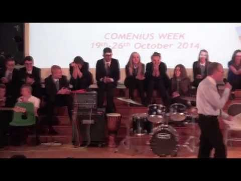 Comenius UK Welcome Concert - 20th October 2014 - Pt.1