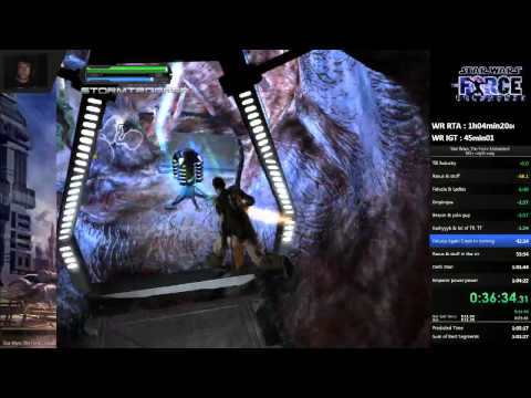 Star Wars: The Force Unleashed Speedrun NG+ 43min39sec
