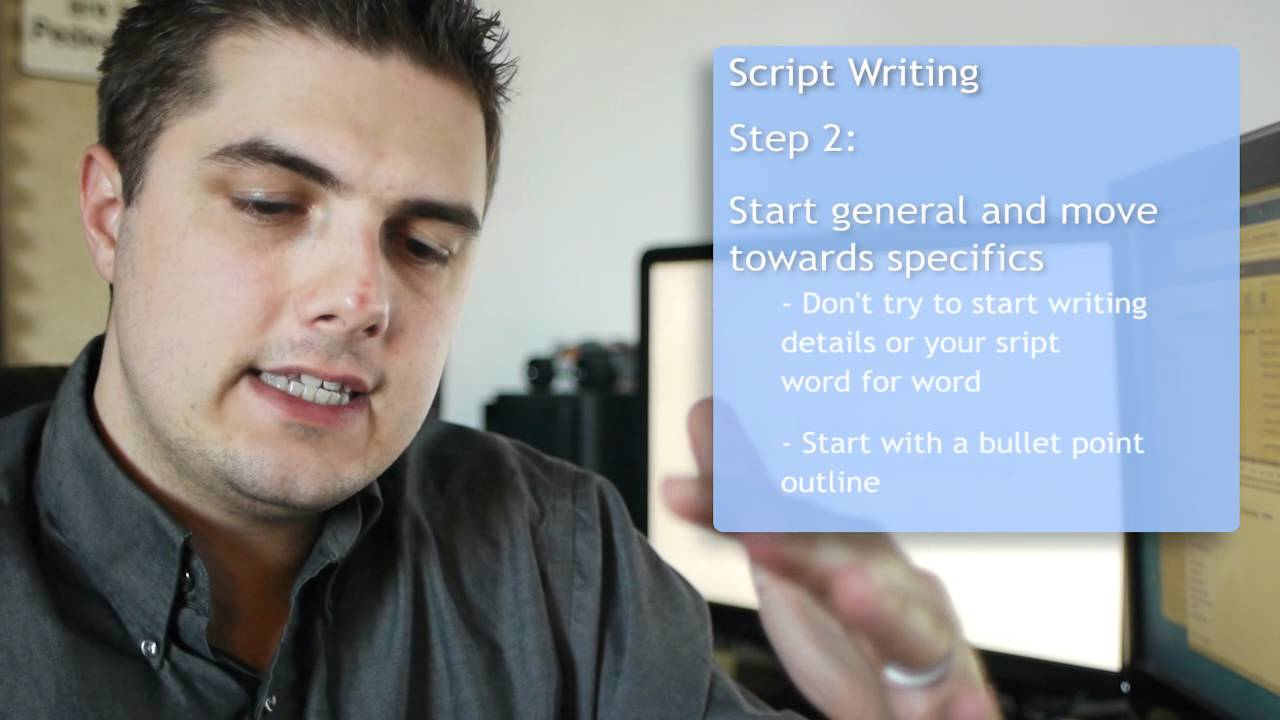 How to Write a Scenario for a Promotional Video