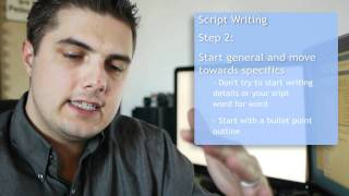 How to write a two column script for a promotional video