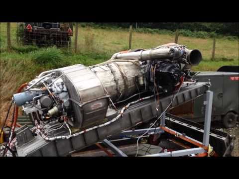 L1011 Tristar APU Gas Turbine First Test Run in Captivity UK thumbnail