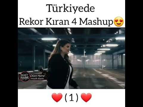 Türkiyede rekor kıran 4 mashup