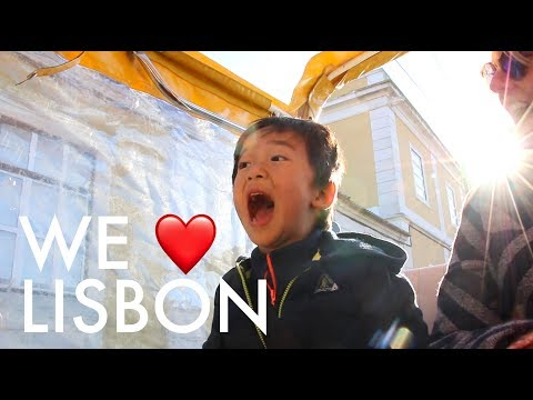 FALLING IN LOVE WITH LISBON : Traveling Family of 11