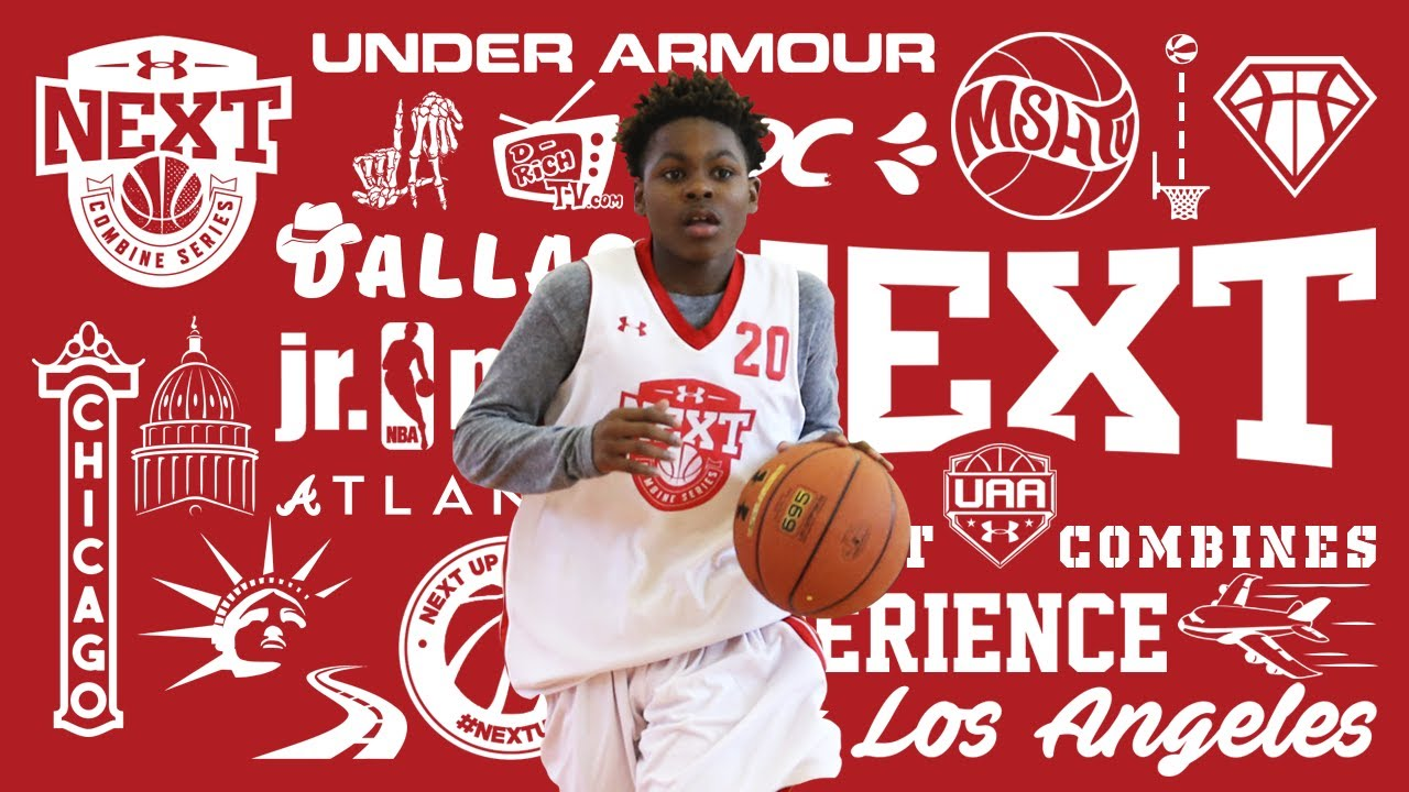9e91e9ce513 Khalil Brantley brings NYC FLAVOR to Under Armour Next Jr NBA Combine in  Atlanta | PREPS.COM HIGHLIGHT TAPES