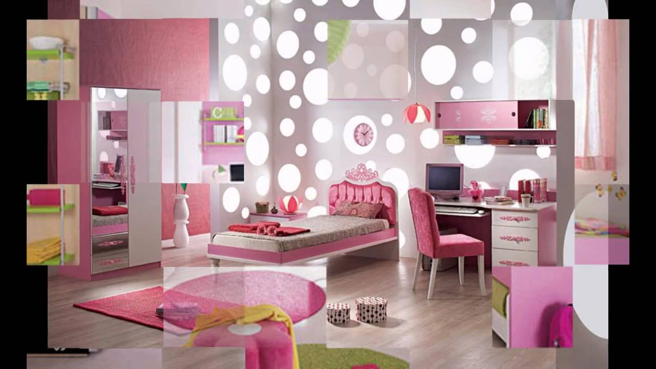 Simple Girls room decorating ideas - YouTube on Room Decoration Girl  id=21507