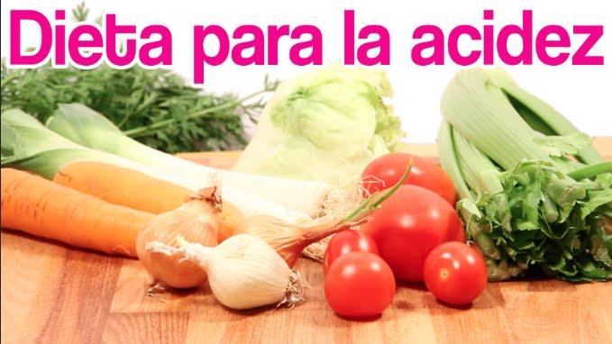 alimentos para aliviar la acidez estomacal
