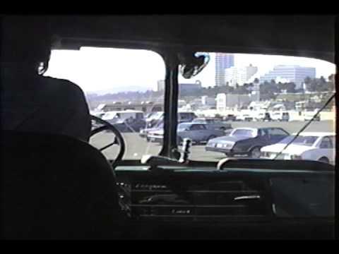 driving bus out of santa monica pier lot