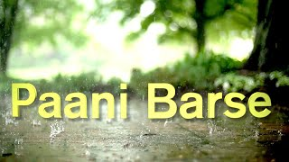 Paani Barse - A memorable ghazal by Mohinderjit Singh