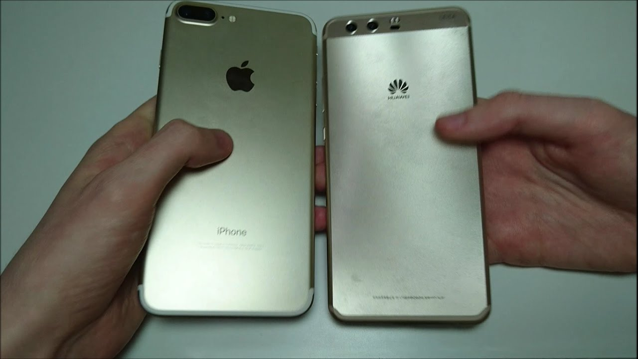 IPHONE 7 VS HUAWEI P10 PHONEARENA