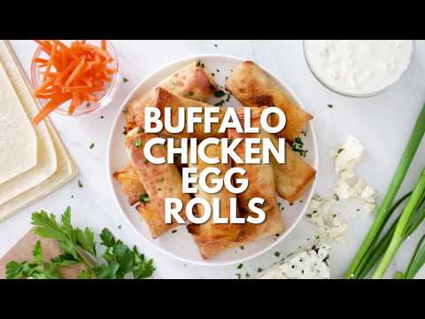 How To Make Buffalo Chicken Eggs Rolls