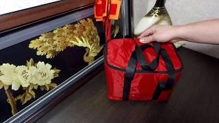 Сумка под жерлицы. Обзор сумки под жерлицы из пятерочки.