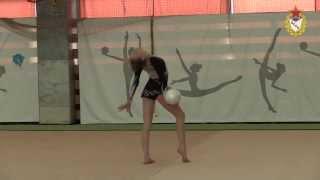 CSKA sports school Open Tournament in Rhythmic Gymnastics. Feb. 20-21, 2014 Moscow