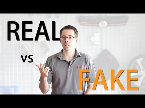 OEM Vs Fake - Spotting Real VW Parts