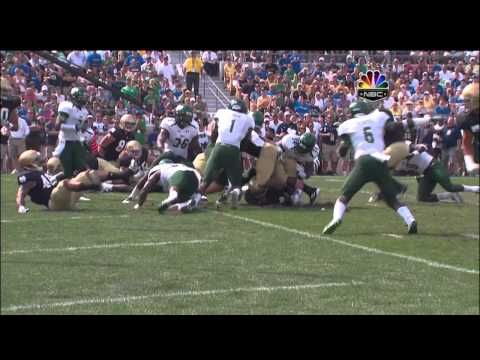 USF Webster 96yd Fumble Return vs. Notre Dame