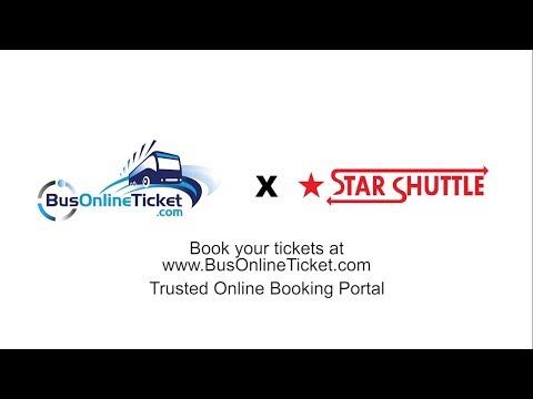 Star Shuttle Bus to Kuala Lumpur from KL Airport (KLIA/KLIA2) - YouTube