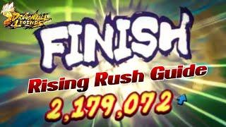 Über 2 Millionen Rising Rush Schaden verursachen! Erklärung im Video! | Dragon Ball Legends Deutsch