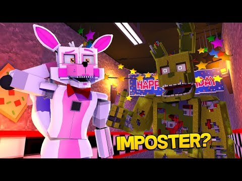 Minecraft Fnaf: The Springtrap Imposter (Minecraft Roleplay)